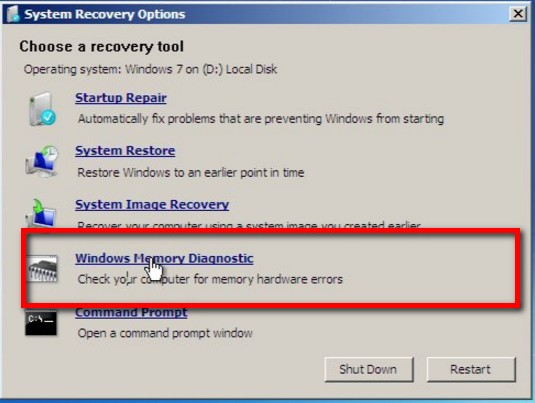 launch startup repair for pc